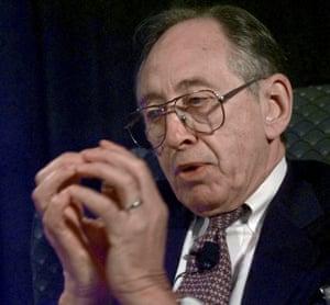 Alvin Toffler in 1998.