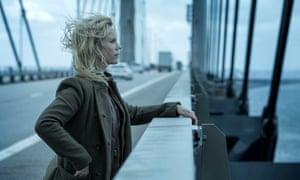 Gloriously unaware … Helin as Saga in The Bridge.