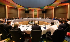 European leaders at their summit.