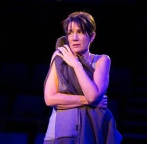 Fascinating approach to the text … Harriet Walter as Prospero in The Tempest.
