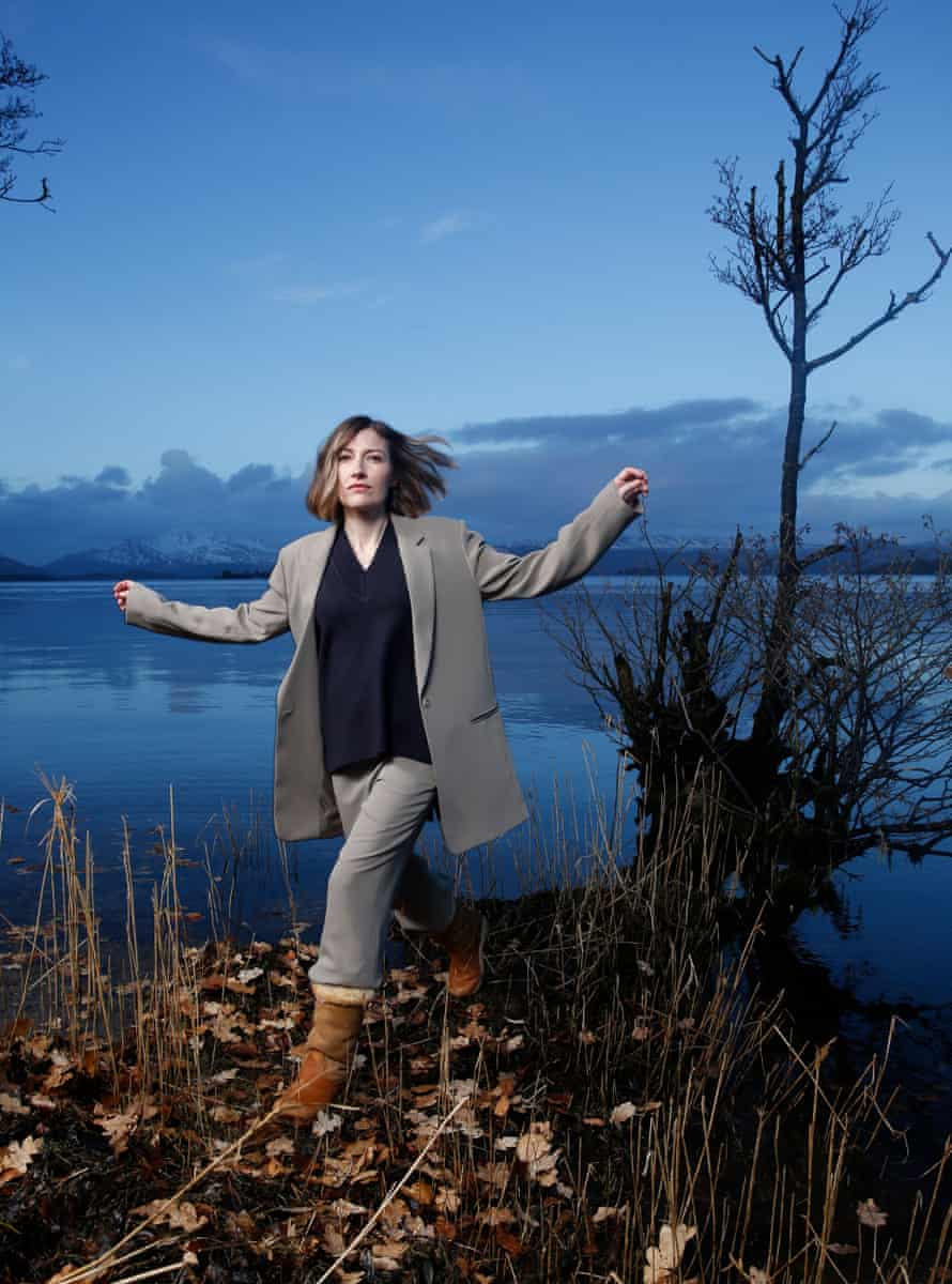Macdonald at Loch Lomond. Styling: Aimee Croysdill at the Wall Group. Hair: Paddy McDougall. Makeup: Heather Snowie. With thanks to jestlodges.info for the location.