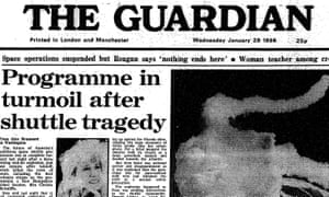 The Guardian, 29 January 1986
