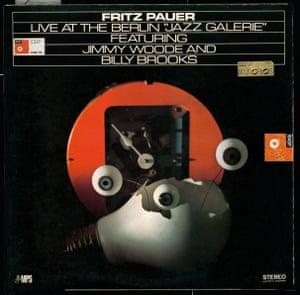 "FRITZ PAUER, LIVE AT THE BERLIN ""JAZZ GALERIE"" (MPS), HEYQLOW KOBAYASHI (DESIGN), MASAKATSU KOBAYASHI (ILLUSTRATION), 1978"