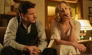 Jack Reynor (L) and Bella Heathcote (R) in Strange Angel