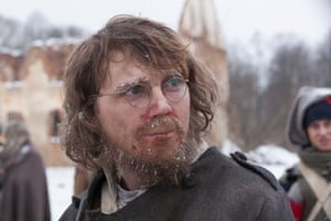 Paul Dano as Pierre in the BBC adaptation