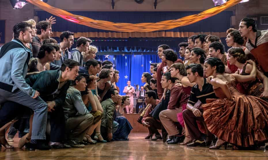 The dance scene from Steven Spielberg's forthcoming West Side Story.