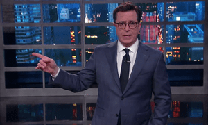 Stephen Colbert on Trump: 'Every day we learn more and understand less.'