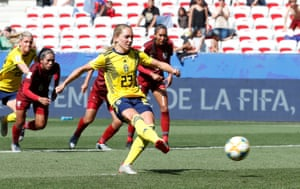Sweden 5-1 Thailand: Women's World Cup 2019 – as it happened