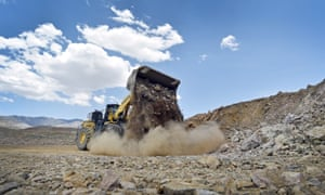 Mountain Pass mine in California.