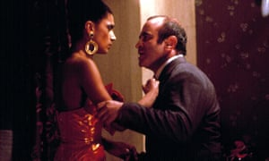 Cathy Tyson and Bob Hoskins in Mona Lisa, 1986.