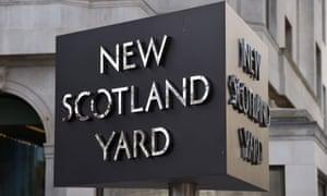 New scotland yard sign