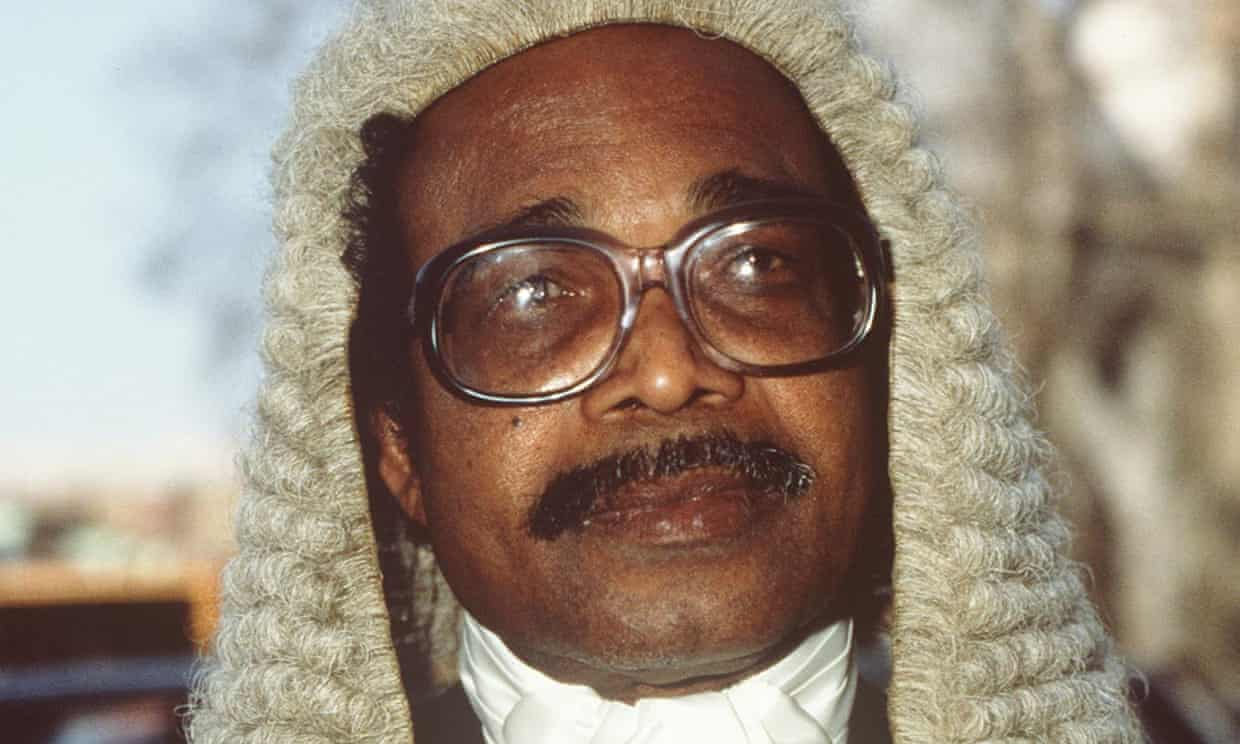 Leonard Woodley was dedicated to securing equal opportunities for young black and Asian lawyers.