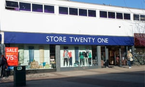 Store Twenty One, Waterlooville, Hampshire, UK