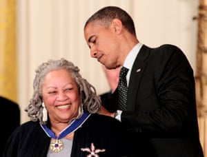 Receiving the Presidential Medal of Freedom from President Barack Obama in 2012