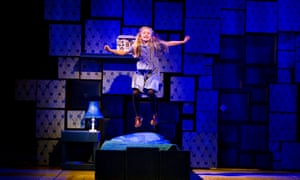 josie griffiths jumping on her bed in matilda