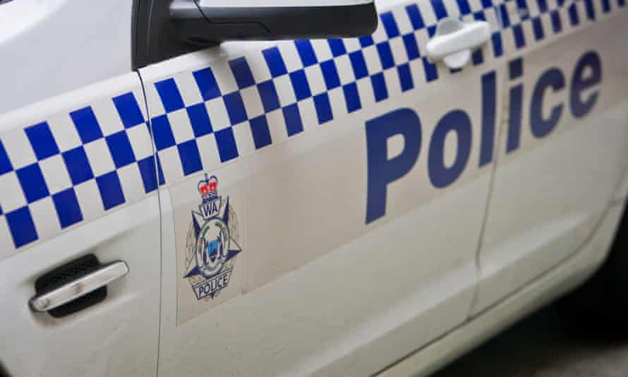 A police car in Perth