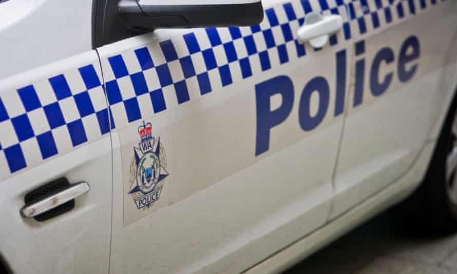 side of a western australia police car