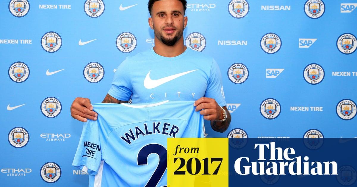 weltweite Auswahl an erstklassige Qualität Neue Produkte Kyle Walker signs for Manchester City in world-record £53m ...