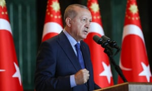 Turkish President Recep Tayyip Erdogan in Ankara.