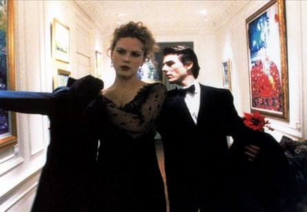 Nicole Kidman and Tom Cruise in Eyes Wide Shut.