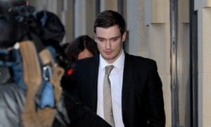 Adam Johnson leaves Bradford crown court