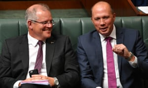 Scott Morrison and Peter Dutton have both expressed interested in the prime ministership.