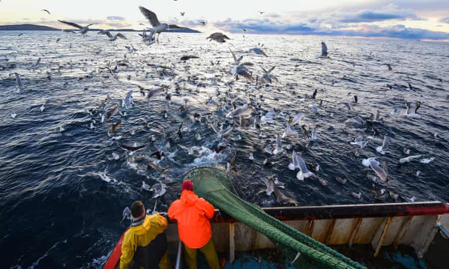 North Sea fishing crew