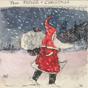 From the north pole to middle earth tolkiens christmas letters to the first letter that jrr tolkien sent to his three year old son spiritdancerdesigns Images