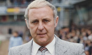 Jim McLean, manager of Dundee United in the 1980s. Winning the Scottish league title in 1983 gave the club the opportunity of reaching a European Cup semi-final the following year.