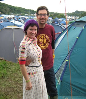 Jeska Rees et Simon Wilson en 2008.
