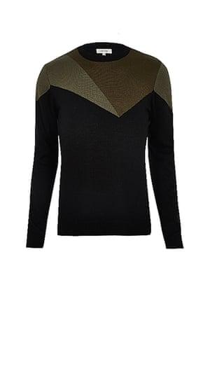 Khaki jumper from River Island
