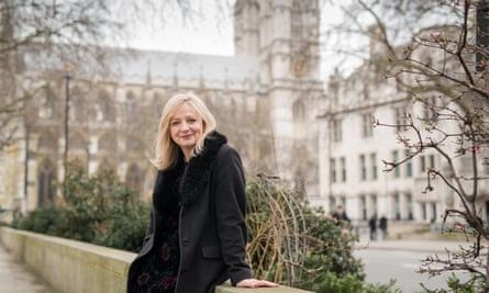 Tracy Brabin outside parliament
