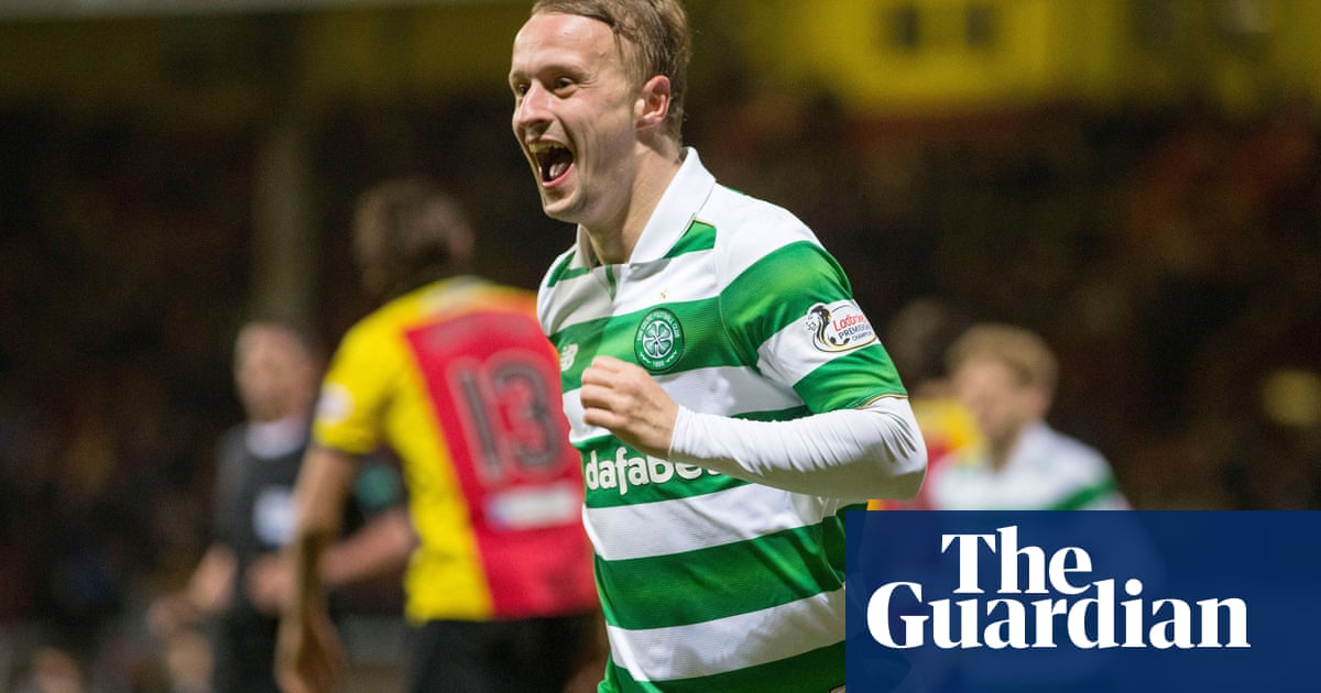 4db9690b334 Nothing says Christmas more than Celtic s Leigh Griffiths dressed as an elf