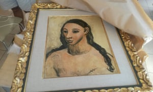 Head of a Young Woman, by Picasso, seized by customs officials