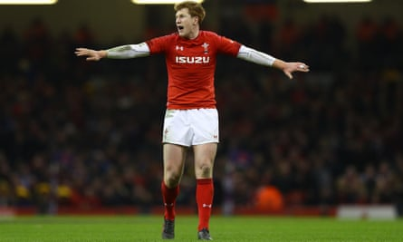 Rhys Patchell is set to be targeted by England in his second start for Wales.