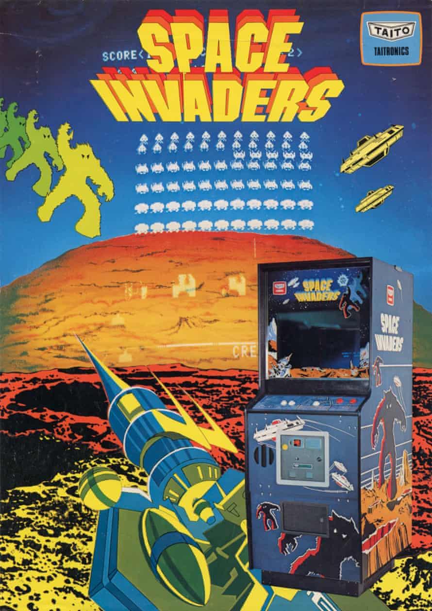 Space Invaders Original Flyer