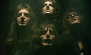 Queen's Bohemian Rhapsody video.