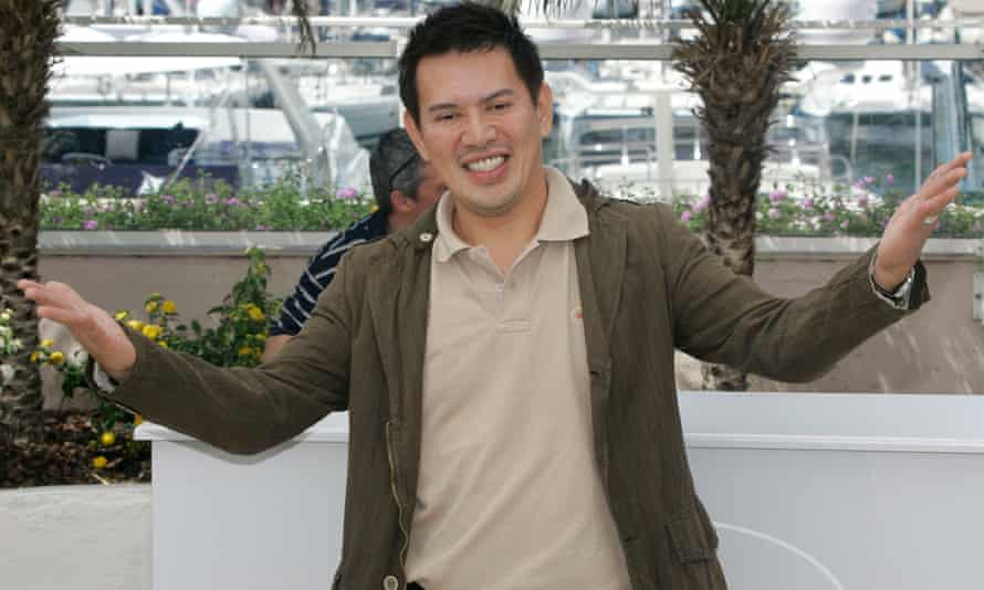 Filippino director Brillante Mendoza during the 2008 Cannes film festival