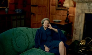 Theresa May was photographed by Annie Leibovitz for American Vogue.