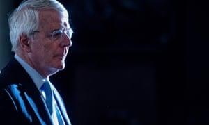 Former prime minister John Major