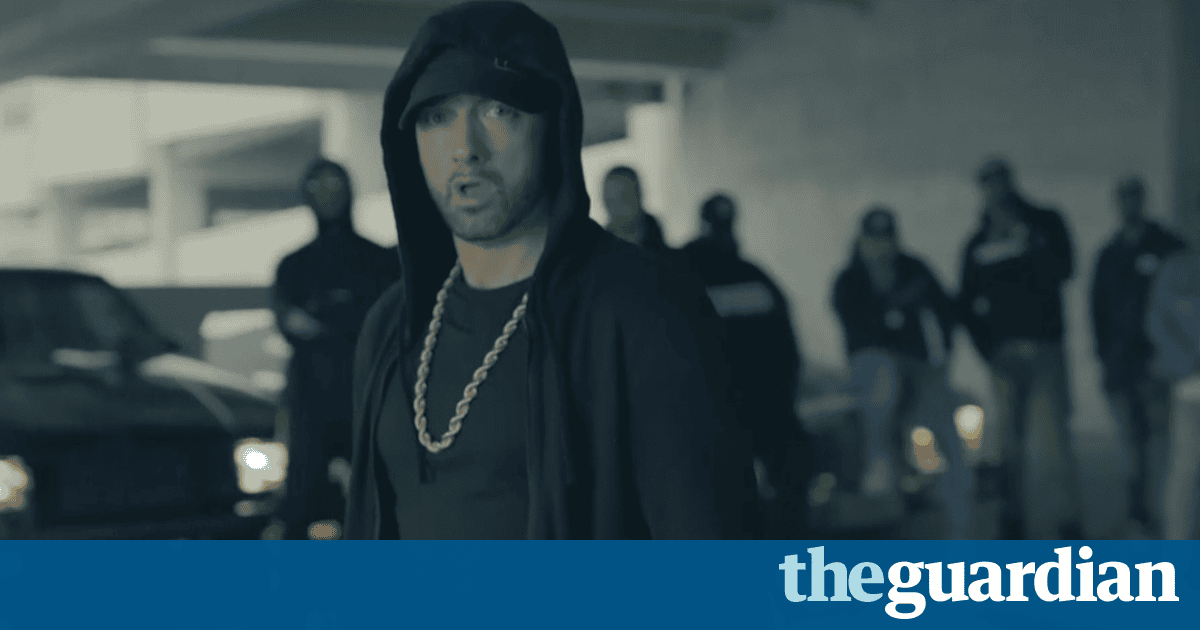Eminem lambasts Donald Trump in freestyle rap – video