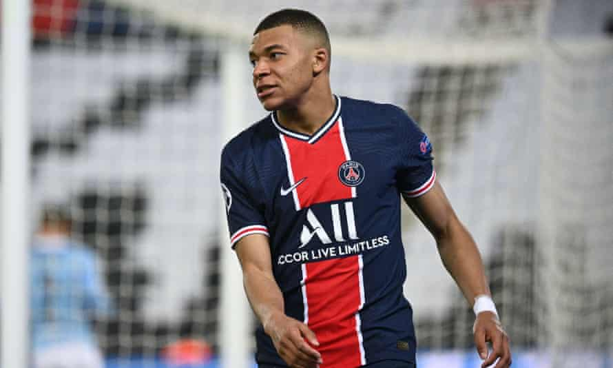 Kylian Mbappé would be a huge loss for Paris Saint-Germain were he to miss their semi-final second leg with Manchester City at the Etihad Stadium