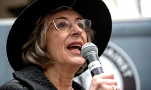 Maureen Lipman attended the rally.