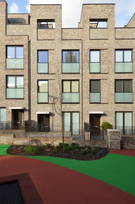 Another way … New flats at the Bacton Estate, in Camden borough, being built with its new Community Investment Programme.