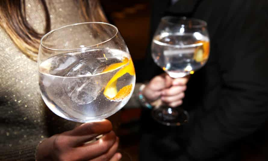Large-bowled glasses are best for gin