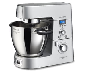 The Kenwood Chef was made with a particularly heavy material to give it a sense of quality.
