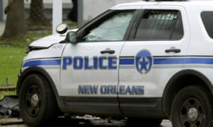 The shooting occurred after residents from Algiers Point, including Bourgeois, attempted to barricade off and patrol their streets out of a fear of being looted or harmed by black residents fleeing other areas.