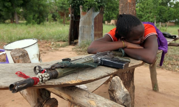A woman in Benue State, north-central Nigeria. More than 80 people have been killed in the region in recent clashes.