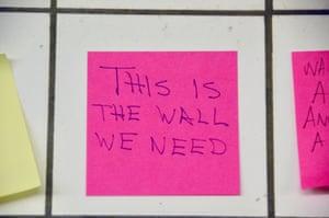 wall we need