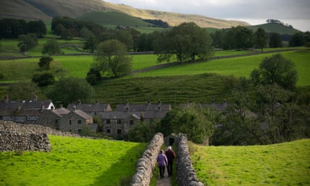 The Yorkshire Dales near the market town of Grassington
